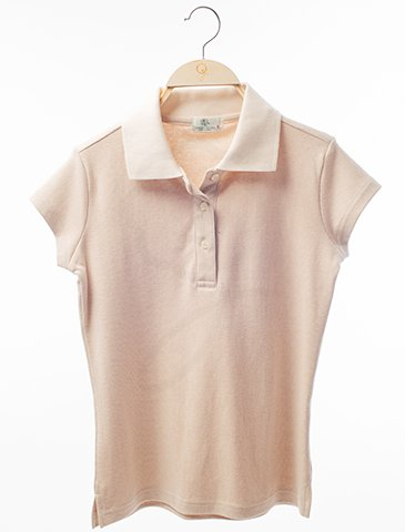 12003 Short Sleeves Polo-Shirt : Rain Drop Style Fabric
