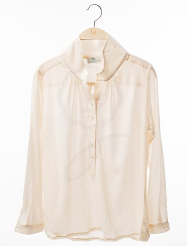 12032 Long Sleeves Shirt : Organic Stretch Cotton 32 Interlock