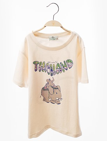 12092 Round Neck T-Shirt : Elephants Screen