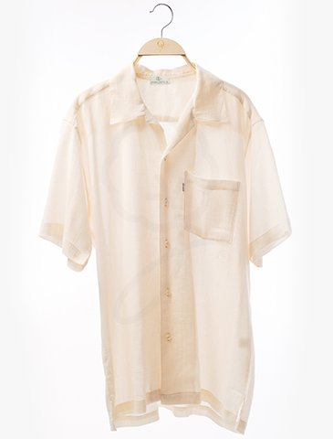 1704 Short Sleeves Shirt : Coconut Style Fabric