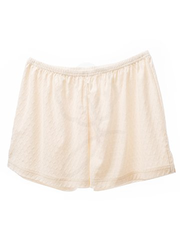 2087 Short Pants : Diamond Shape Style Fabric