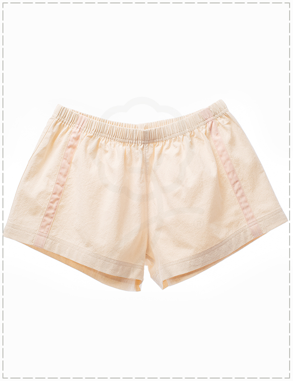 2120 Short Pants : Crinkle Wash Fabric