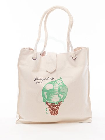 4212 Tote Bag : Ice cream Screen
