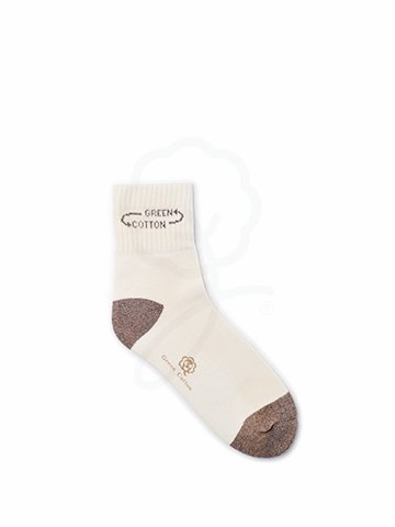 LDGRT-026D Medium Ankle Sport Sock : Brown