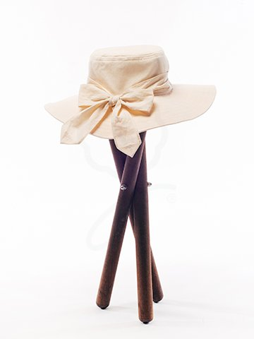 HAT-01 Hat with Ribbon Tie